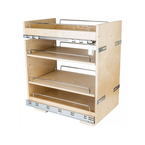 """14"""" Base cabinet pullout with premium soft-close undermount"""