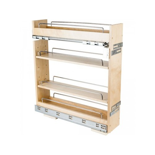 """5"""" Base cabinet pullout with premium soft-close undermount s"""