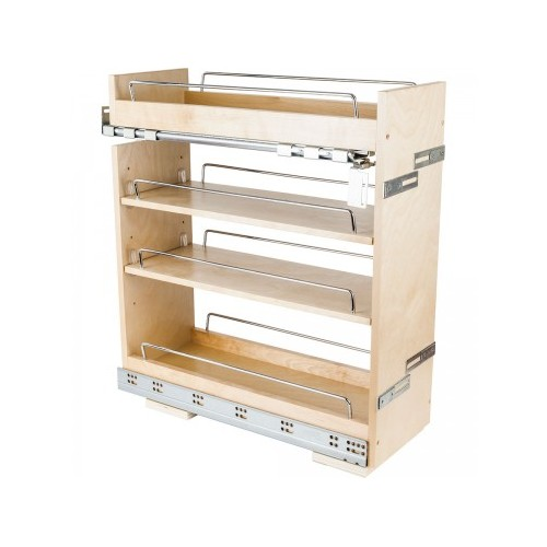 """8"""" Base cabinet pullout with premium soft-close undermount s"""