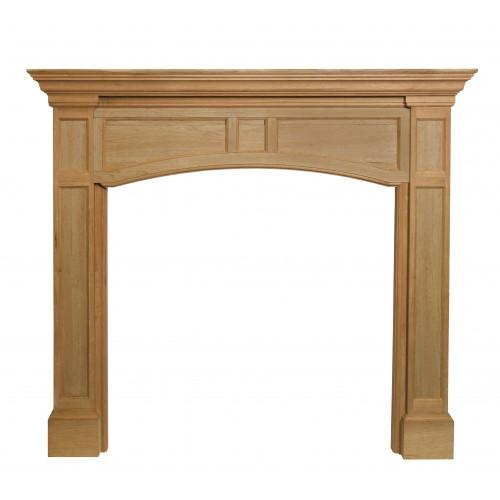 "48"" Vance Unfinished Wood mantel."