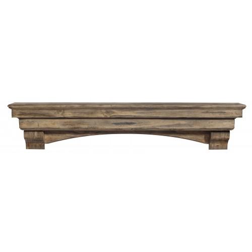 "48"" Celeste Dune Finish Wood Shelf."
