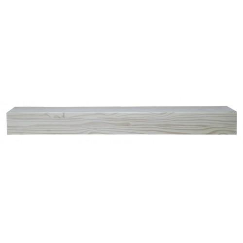 """60"""" Dakota Unfinished Wood Shelf."""