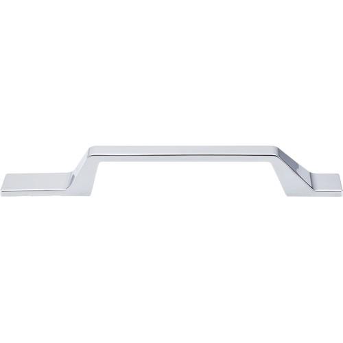 "Modern Metro Asymmetrical Pull 5"" (cc)  Polished Chrome"