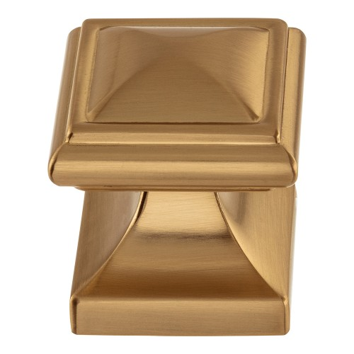 Wadsworth Knob  - Warm Brass