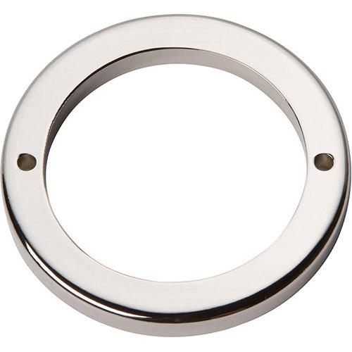 "Tableau Round Base 2 1/2"" - Polished Nickel"