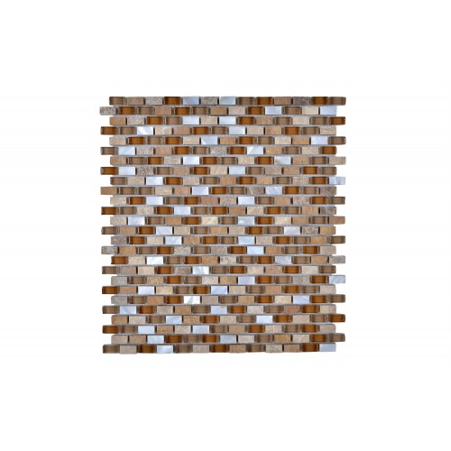 MOSAIC MIX WITH STONE-SF (10 sqft. Per carton)