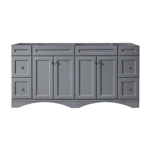 """Talisa 72"""" Cabinet Only in Grey"""