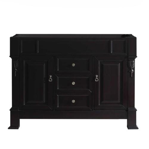"""Huntshire 48"""" Cabinet Only in Dark Walnut"""