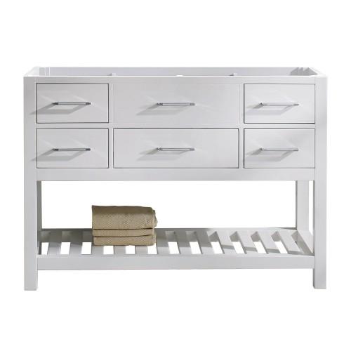 "Caroline Estate 48"" Cabinet Only in White"
