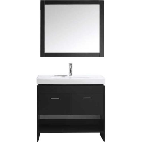 "Gloria 36"" Single Bathroom Vanity Cabinet Set in Espresso"