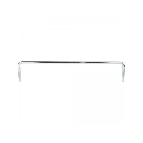 "9-1/4"" Metal shelf rail. 1-3/4"" height.  6mm diamater push-"