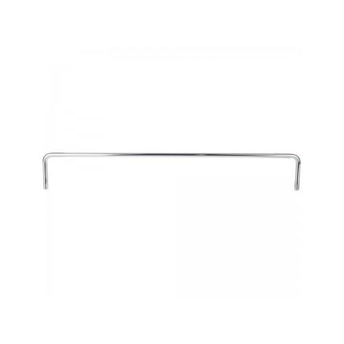 "12-1/4"" Metal shelf rail. 1-3/4"" height.  6mm diamater pus"