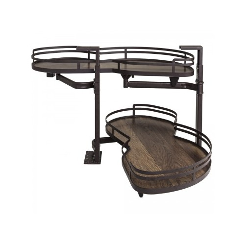 """21"""" Walnut Blind Corner Swing Out, Right Handed Unit"""