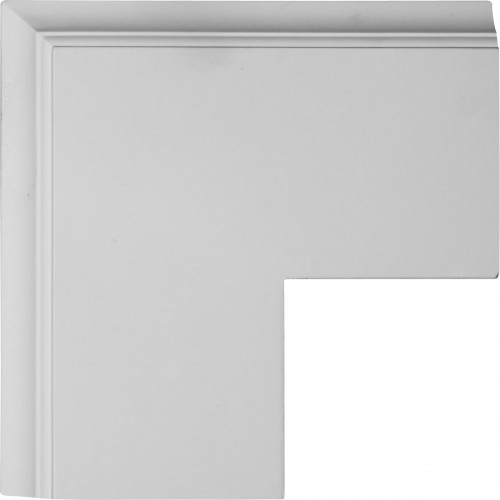 """14""""W x 2""""P x 14""""L Perimeter Outside Corner for 8"""" Traditional Coffered Ceiling System"""