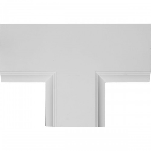 "14""W x 2""P x 20""L Perimeter Tee for 8"" Traditional Coffered Ceiling System"
