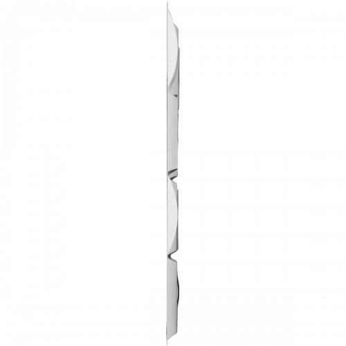 "19 5/8""W x 19 5/8""H Baile EnduraWall Decorative 3D Wall Panel, White"