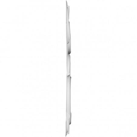 "19 5/8""W x 19 5/8""H Felix EnduraWall Decorative 3D Wall Panel, White"