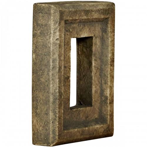 "6 1/4""W x 8 1/4""H x 2""D Universal Electrical Outlet for Endurathane Faux Stone & Rock Siding Panels, Redstone"