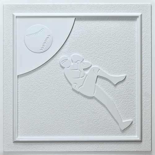 CT-1173 Baseball Ceiling Tile