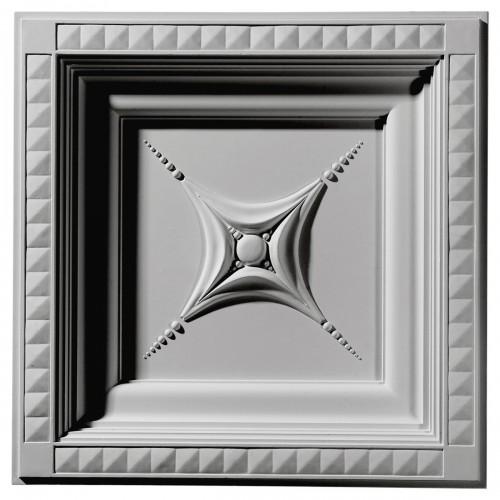 24W x 24H x 2 7/8P Star Ceiling Tile