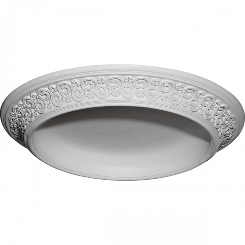 34 1/2OD x 25ID x 3 1/2D Bedford Surface Mount Ceiling Dome