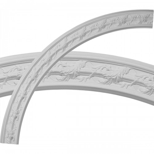 Southampton Acanthus Leaf Ceiling Ring (1/4 of complete circle)