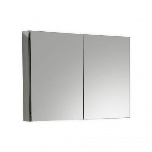 """Kube 40"""" Mirrored Medicine Cabinet"""
