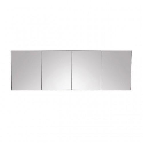 """Kube 80"""" Mirrored Medicine Cabinet"""