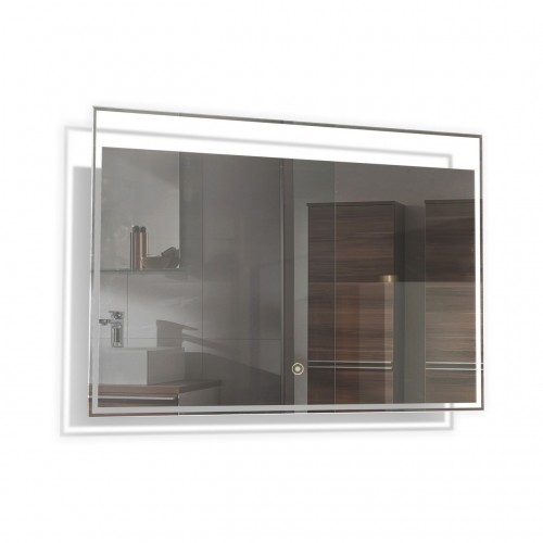"Kube 40"" LED Mirror with Touch On/Off Switch"