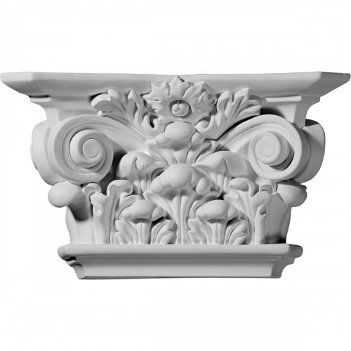 Acanthus Leaf Capital (Fits Pilasters up to 6 3/4W x 5/8D)
