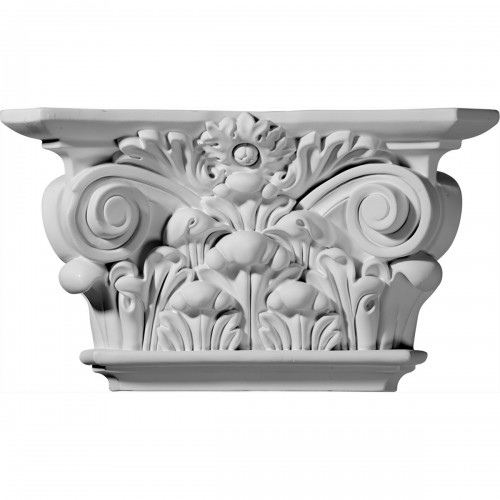 Acanthus Leaf Capital (Fits Pilasters up to 5 3/4W x 5/8D)