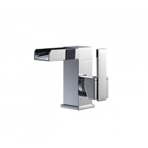 Aqua Fontana Single Lever Waterfall Faucet - Chrome