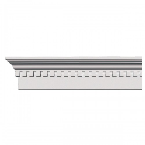 9H x 68 3/4W x 1 1/4P Seville Traditional Crosshead with Dentil