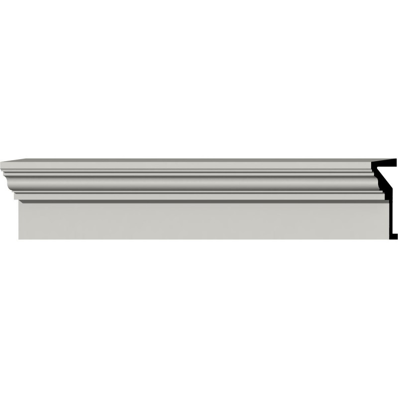 9H x 96W x 4 1/4P Traditional Fascia Header