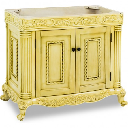 Antique Ornate Jeffrey Alexander Vanity   39-11/16 x 22-1/2