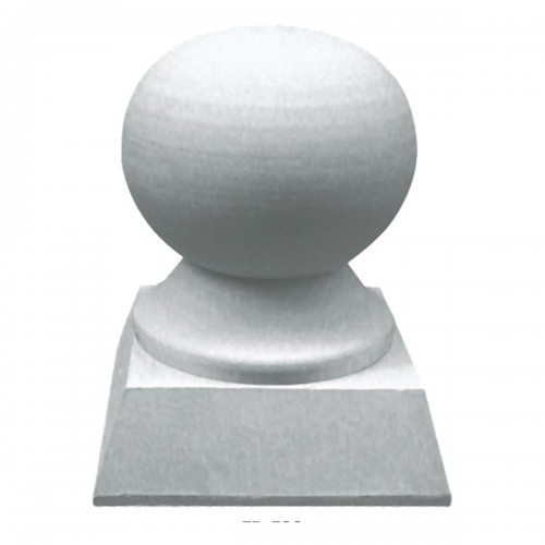 3 3/8OD x 4 3/4H Traditional Finial