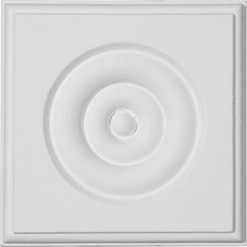 4 3/4W x 4 3/4H x 1 1/8P Waltz Bullseye Plinth Block