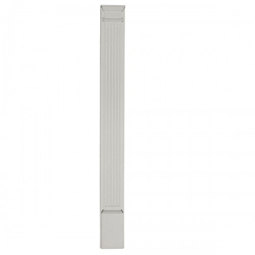 9W x 90H x 2 3/4D with 14 Attached Plinth Fluted Pilaster (each)