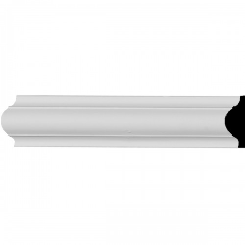 1 5/8H x 1/2P x 96L Ashford Smooth Panel Moulding