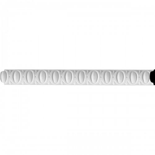 1 1/4H x 3/8P x 94 1/2L Middlesborough Egg & Dart Panel Moulding