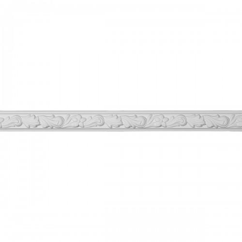 2H x  7/8P x 94 1/2L  Sussex Floral Panel Moulding