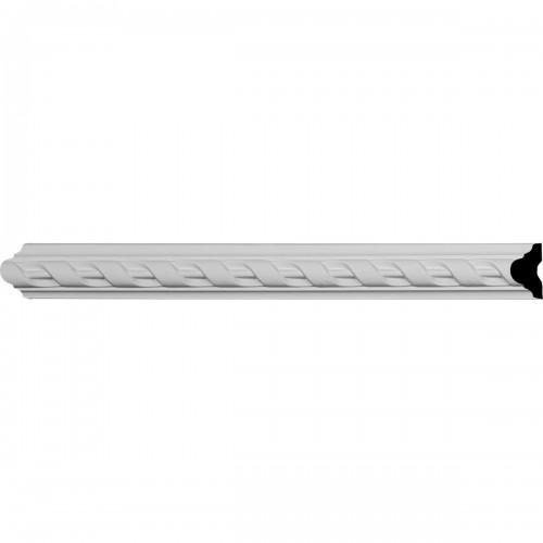 1 5/8H x 1P x 96L Valeriano Ribbon Panel Moulding