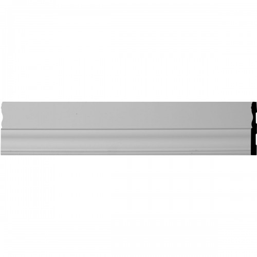 4 1/8H x 5/8P x 96L Smooth Classic Panel Moulding