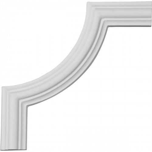 5 7/8H x 5 7/8W Bradford Smooth Panel Moulding Corner