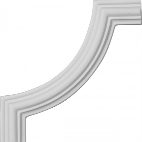 5 1/8W x 5 1/8H Large Classic Panel Moulding Corner