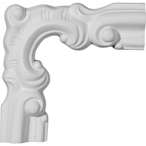 5 1/8W x 5 1/8H Seville Panel Moulding Corner