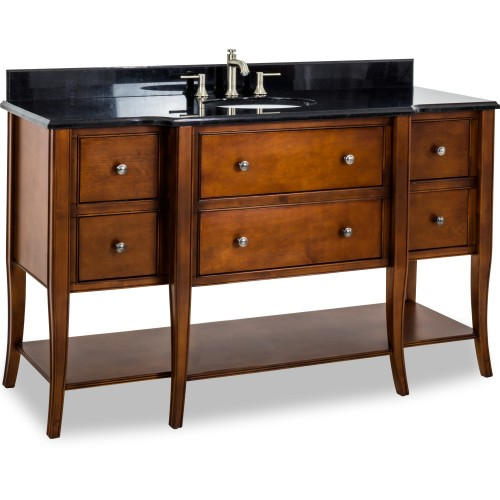 60 Philadelphia Classic Vanity with Preassembled Top and Bo