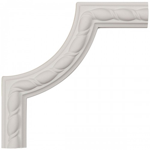 6W x 6H x 5/8P Bulwark Rope Panel Moulding Corner