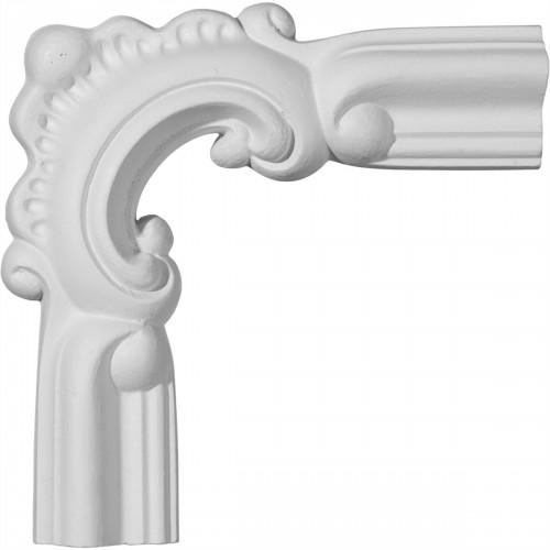 5 7/8W x 5 7/8H Seville Panel Moulding Corner