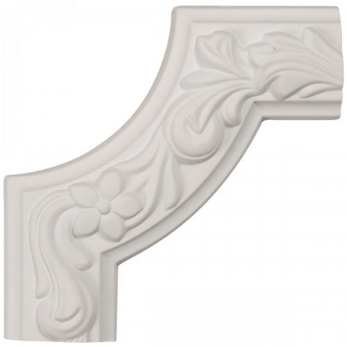 6W x 6H x 1 7/8P Sussex Floral Panel Moulding Corner